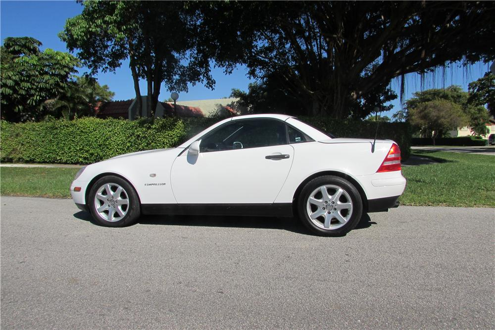 1998 mercedes benz slk230 convertible 170441 for Mercedes benz slk230