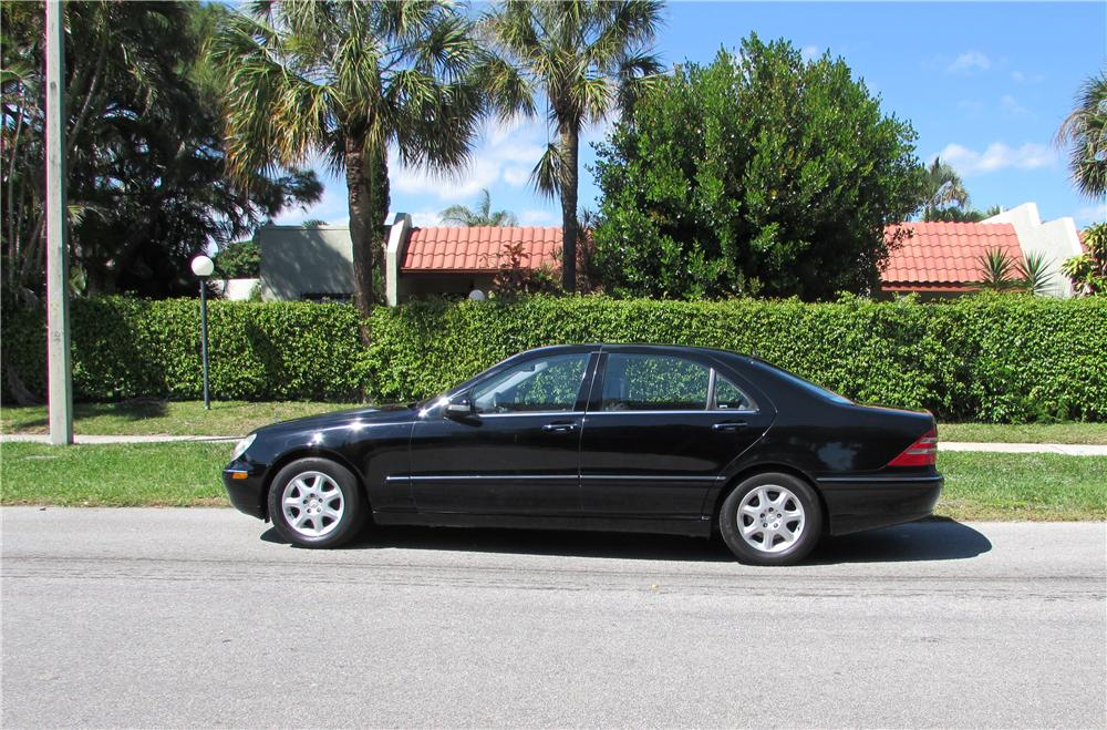2001 MERCEDES-BENZ S430 4 DOOR SEDAN - Side Profile - 170442