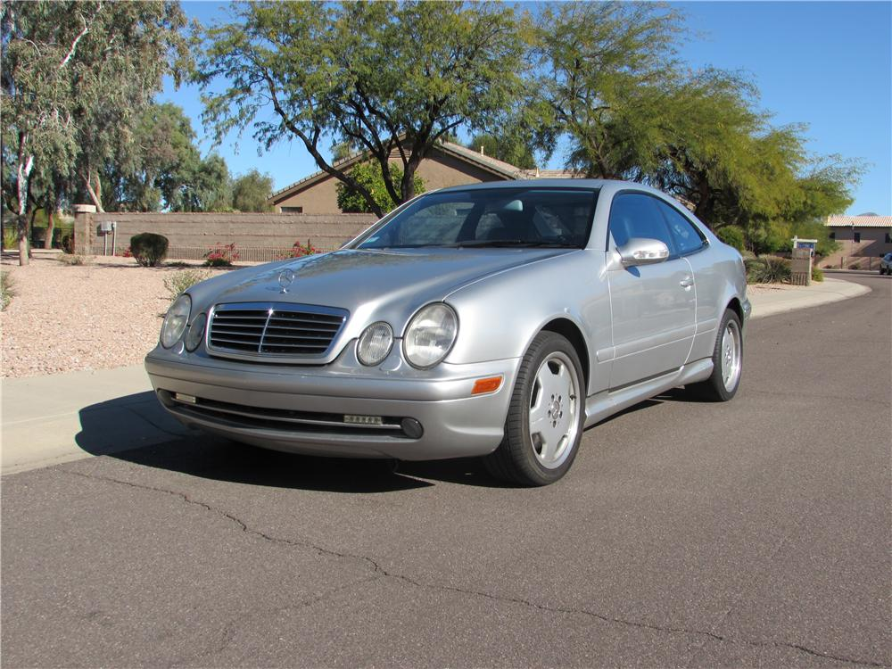2001 MERCEDES-BENZ CLK 55 AMG 2 DOOR COUPE - Front 3/4 - 170443
