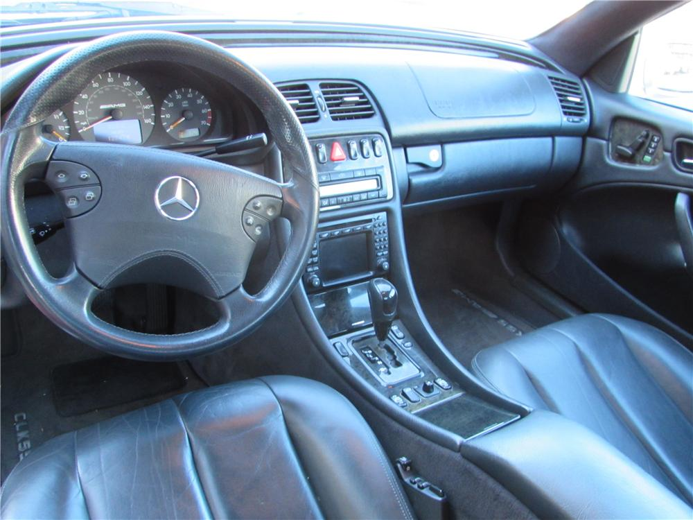 2001 MERCEDES-BENZ CLK 55 AMG 2 DOOR COUPE - Interior - 170443