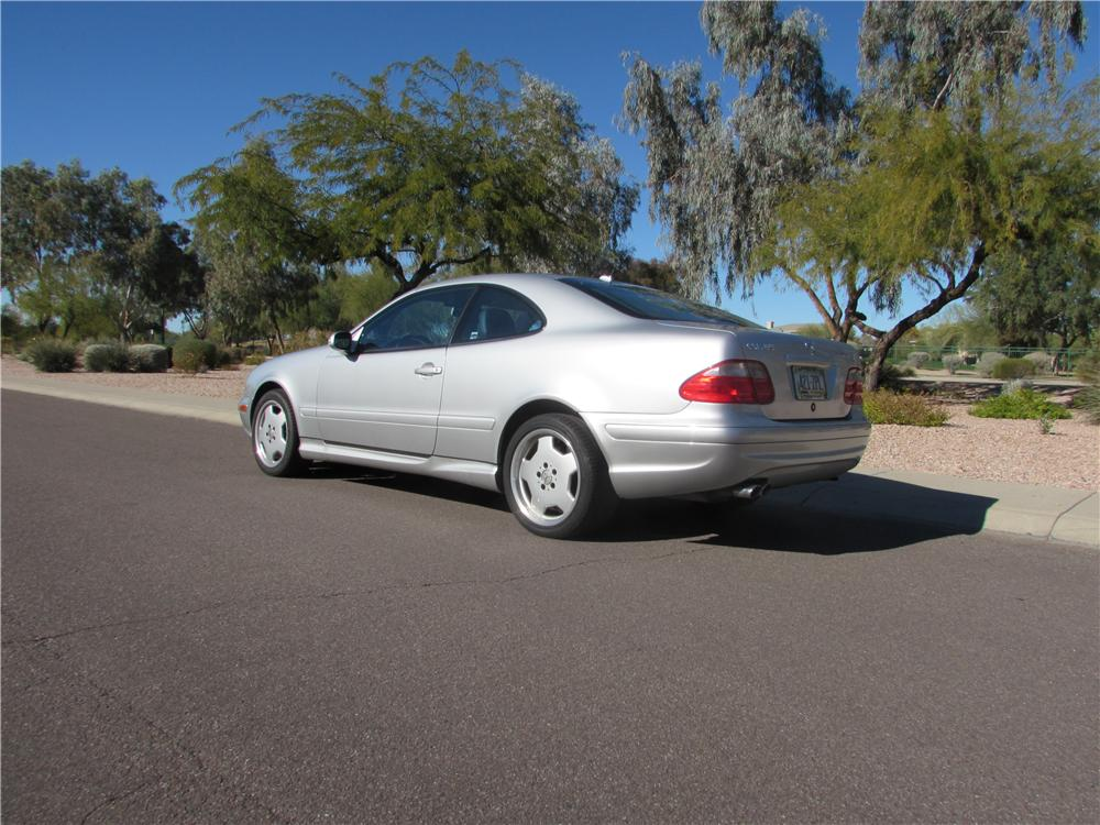 2001 MERCEDES-BENZ CLK 55 AMG 2 DOOR COUPE - Rear 3/4 - 170443