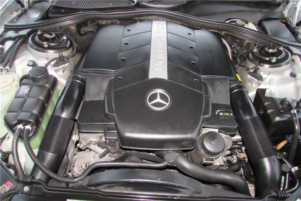 2002 MERCEDES-BENZ CL500 2 DOOR COUPE - Engine - 170444