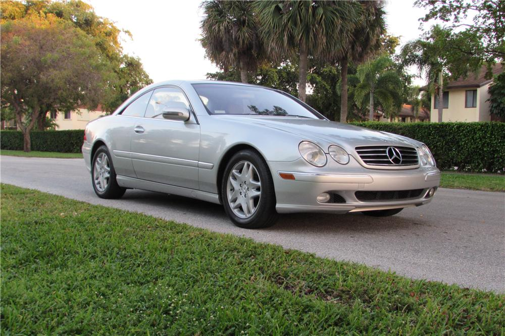 2002 mercedes benz cl500 2 door coupe 170444 for Mercedes benz financial address for insurance