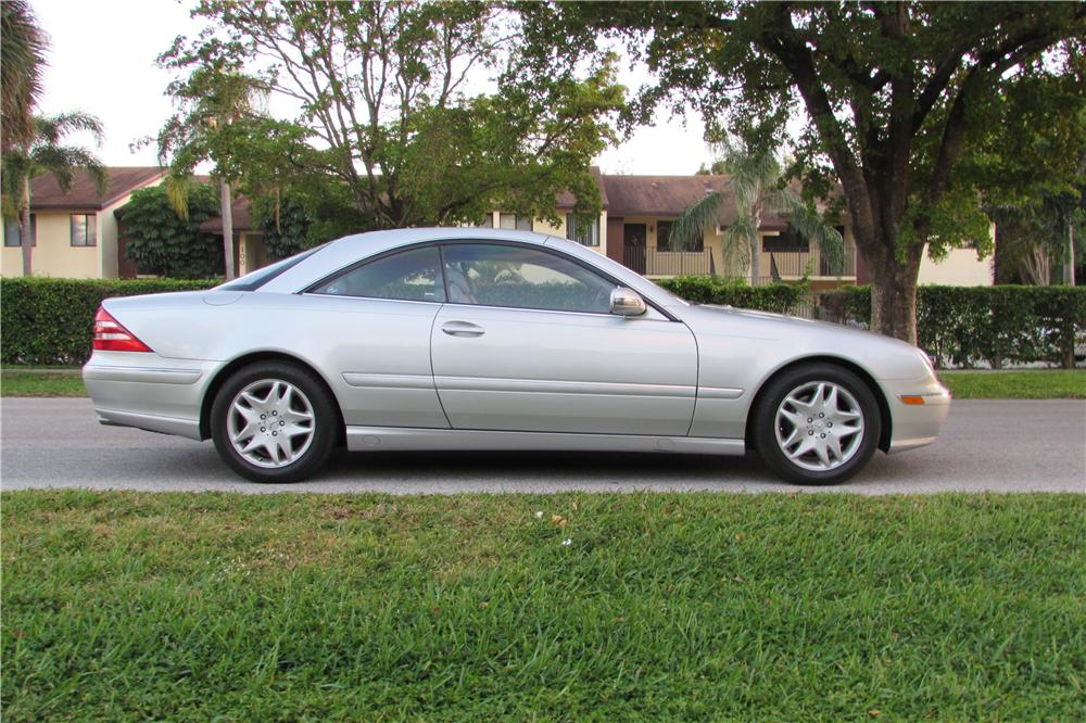2002 MERCEDES-BENZ CL500 2 DOOR COUPE - Side Profile - 170444