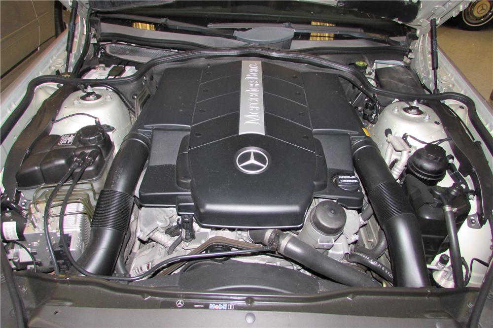 2003 MERCEDES-BENZ SL500 ROADSTER - Engine - 170445