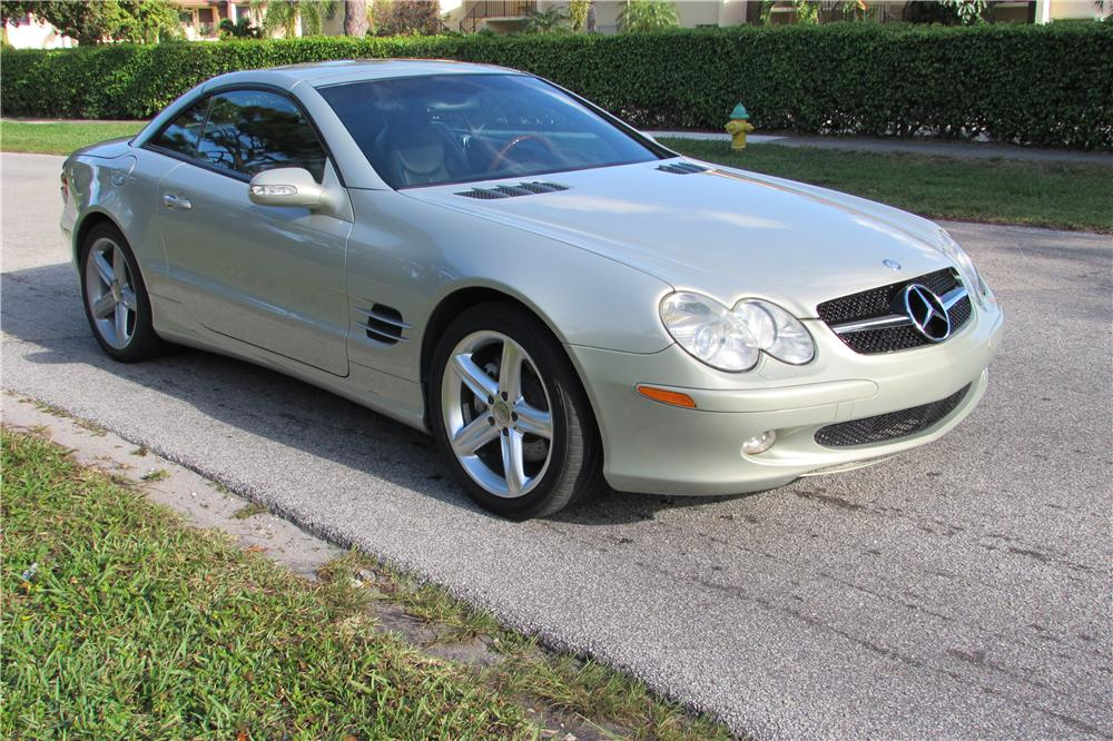 2003 MERCEDES-BENZ SL500 ROADSTER - Front 3/4 - 170445