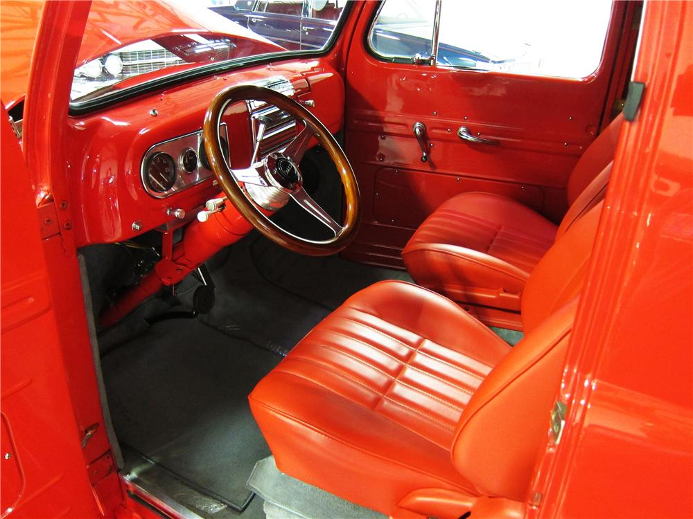 1950 FORD DELIVERY CUSTOM PANEL WAGON - Interior - 170448