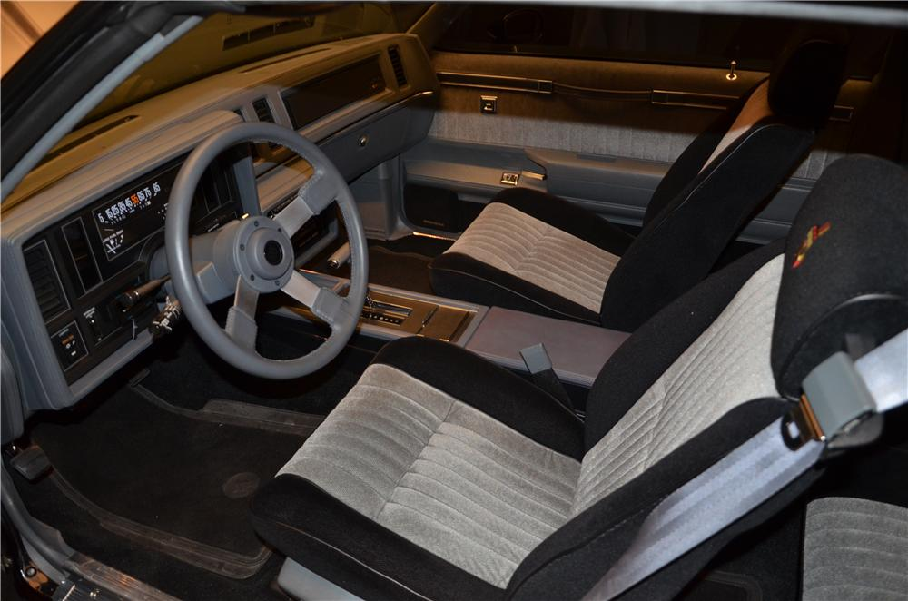 1987 buick grand national 2 door coupe 170457 - 1987 buick grand national interior ...