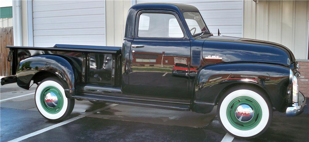 1948 GMC 3/4 TON PICKUP - Side Profile - 170467
