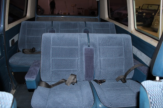1983 VOLKSWAGEN BUS VANAGON - Interior - 170468