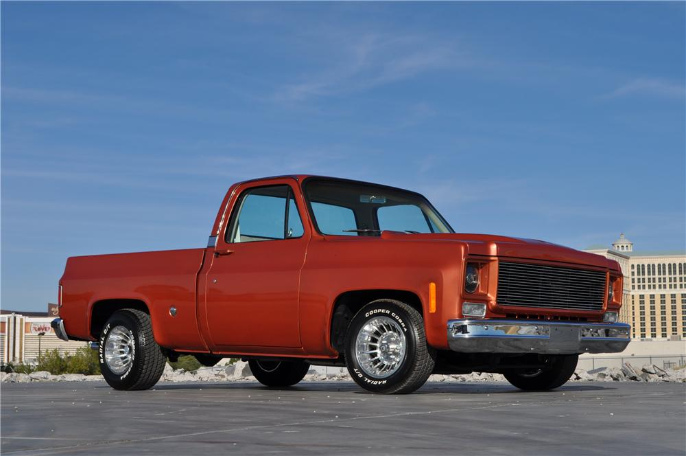 1978 CHEVROLET C-10 CUSTOM PICKUP - Front 3/4 - 170471