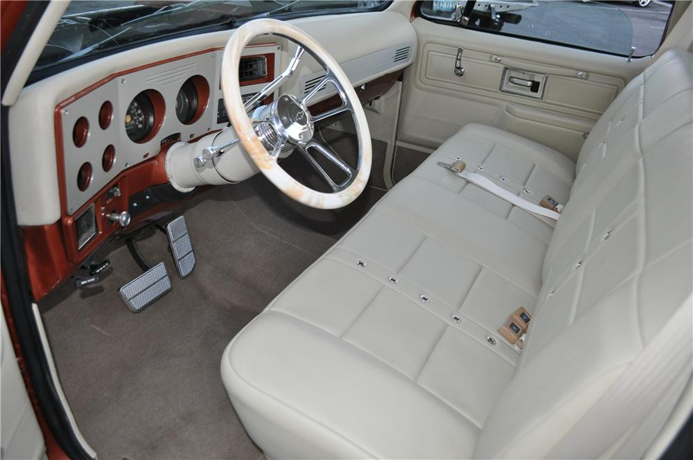 1978 CHEVROLET C-10 CUSTOM PICKUP - Interior - 170471