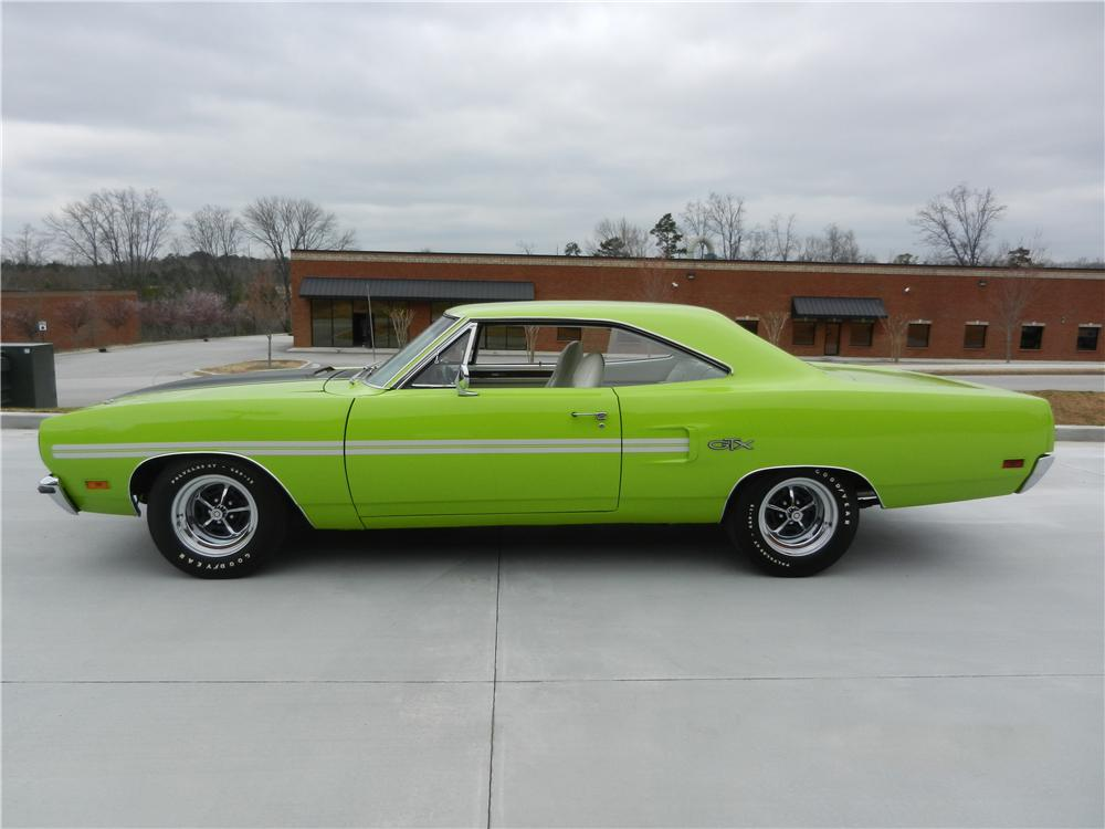 1970 PLYMOUTH GTX CUSTOM 2 DOOR HARDTOP - Side Profile - 170472