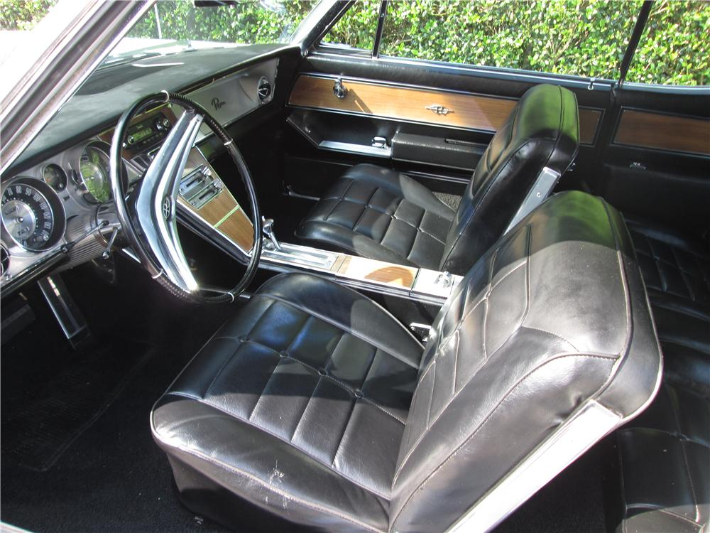 1964 BUICK RIVIERA 2 DOOR COUPE - Interior - 170473
