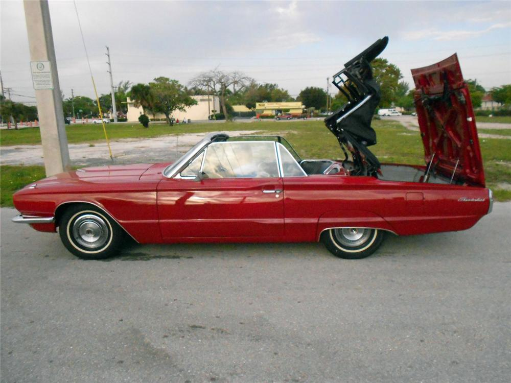 1966 FORD THUNDERBIRD CONVERTIBLE - Side Profile - 170484