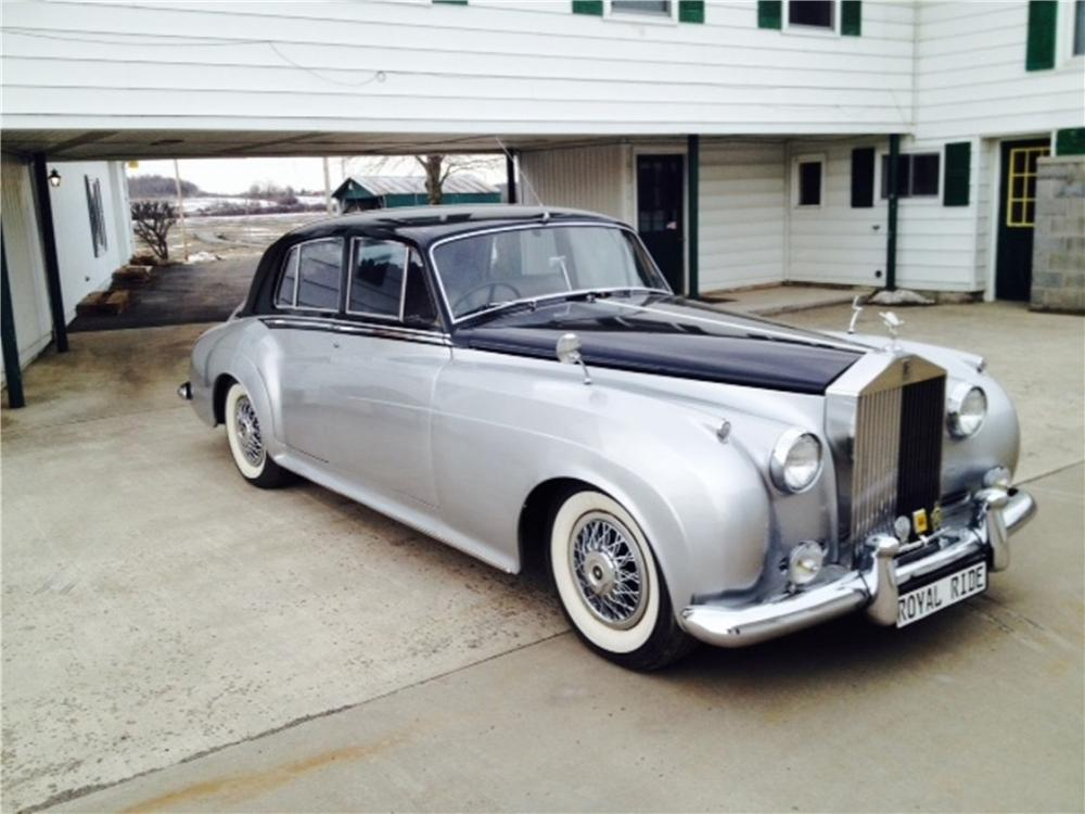 1958 ROLLS-ROYCE SILVER CLOUD 4 DOOR SEDAN - Front 3/4 - 170485