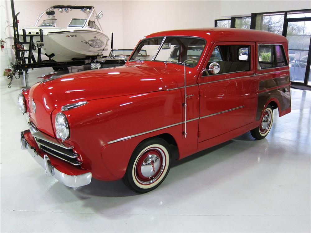1950 CROSLEY SUPER STATION WAGON - Front 3/4 - 170611