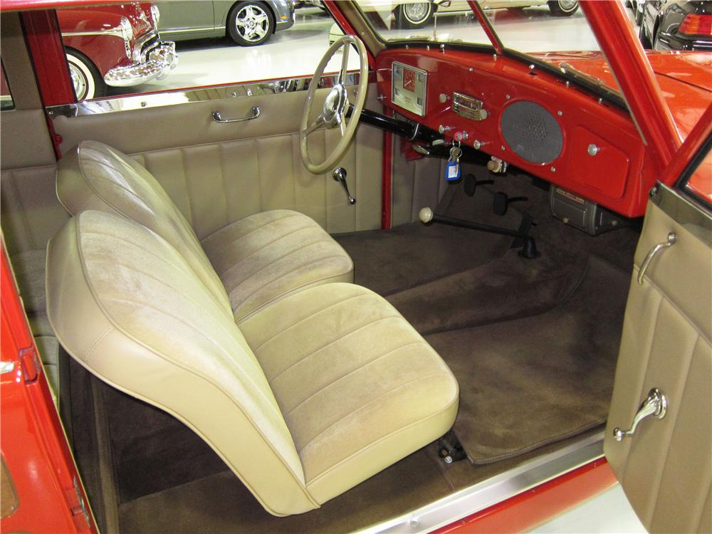 1950 CROSLEY SUPER STATION WAGON - Interior - 170611