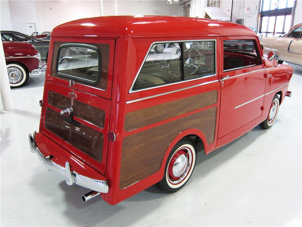 1950 CROSLEY SUPER STATION WAGON - Rear 3/4 - 170611
