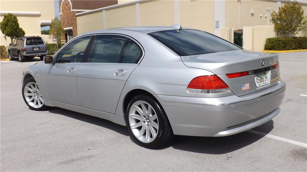 2005 BMW 745 LI 4 DOOR SEDAN - Rear 3/4 - 170613