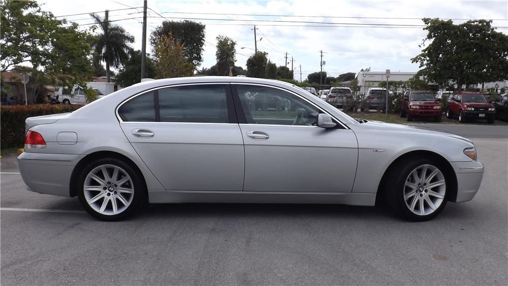 2005 BMW 745 LI 4 DOOR SEDAN - Side Profile - 170613