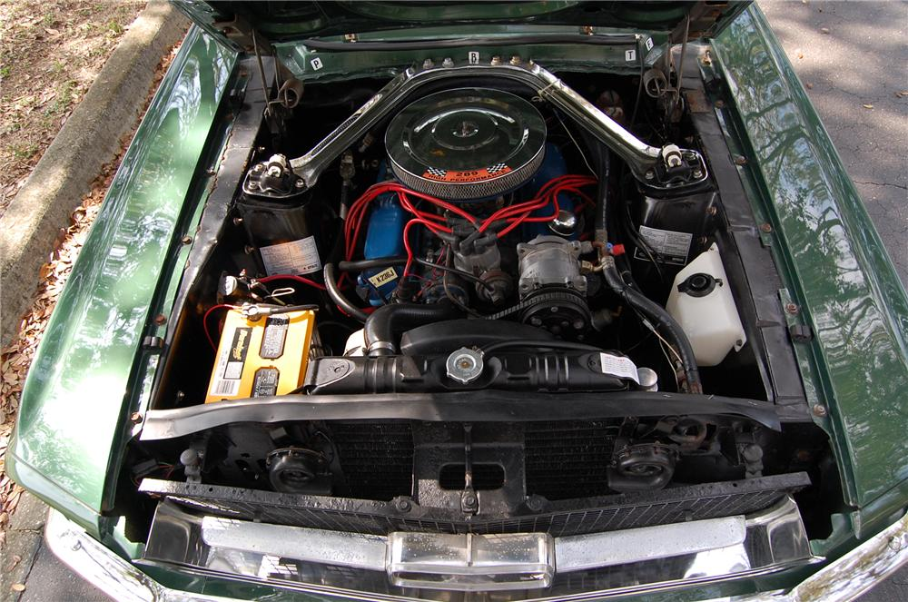 1967 FORD MUSTANG CONVERTIBLE - Engine - 170617
