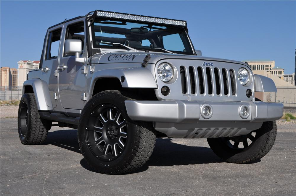 2007 JEEP WRANGLER UNLIMITED CUSTOM SUV - Front 3/4 - 170618