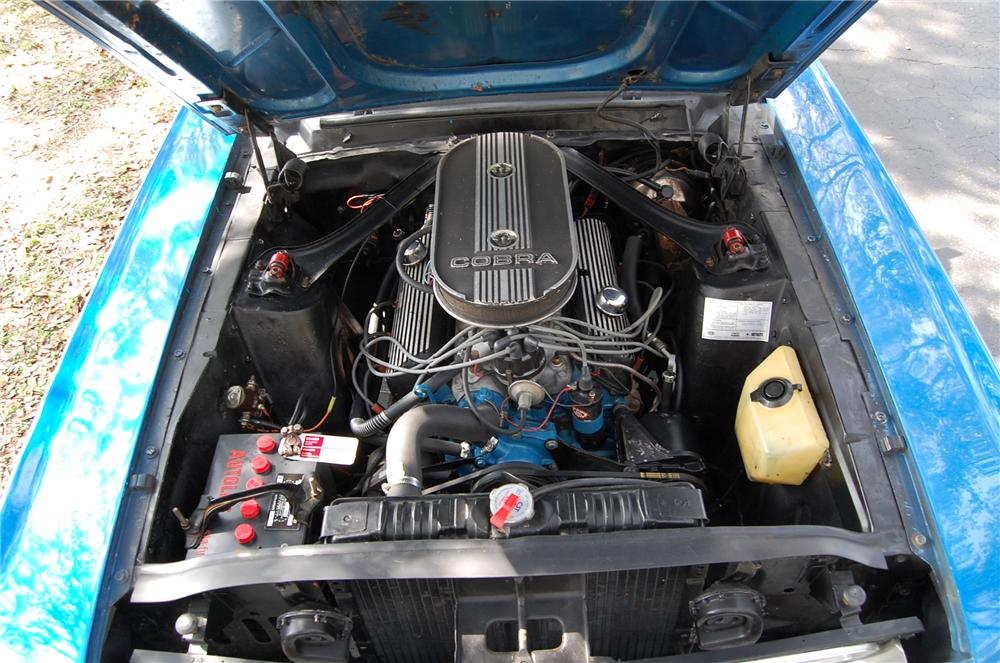 1968 FORD MUSTANG CONVERTIBLE - Engine - 170619