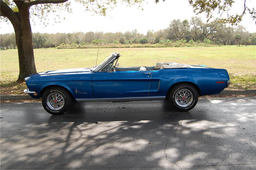 1968 Ford Mustang Convertible 170619