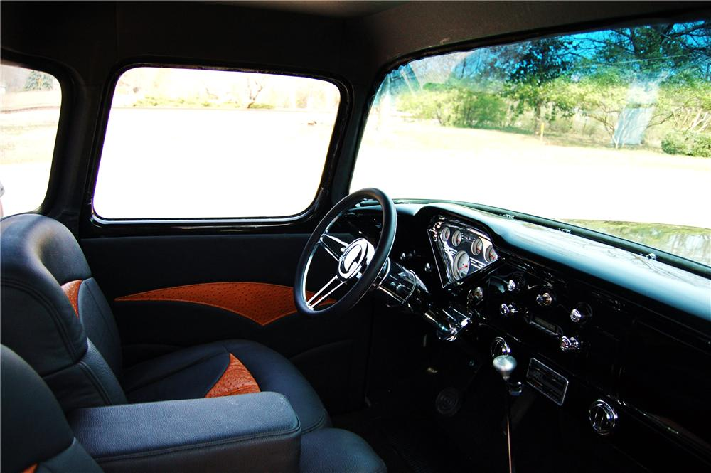 1956 CHEVROLET 3100 CUSTOM PICKUP - Interior - 170621