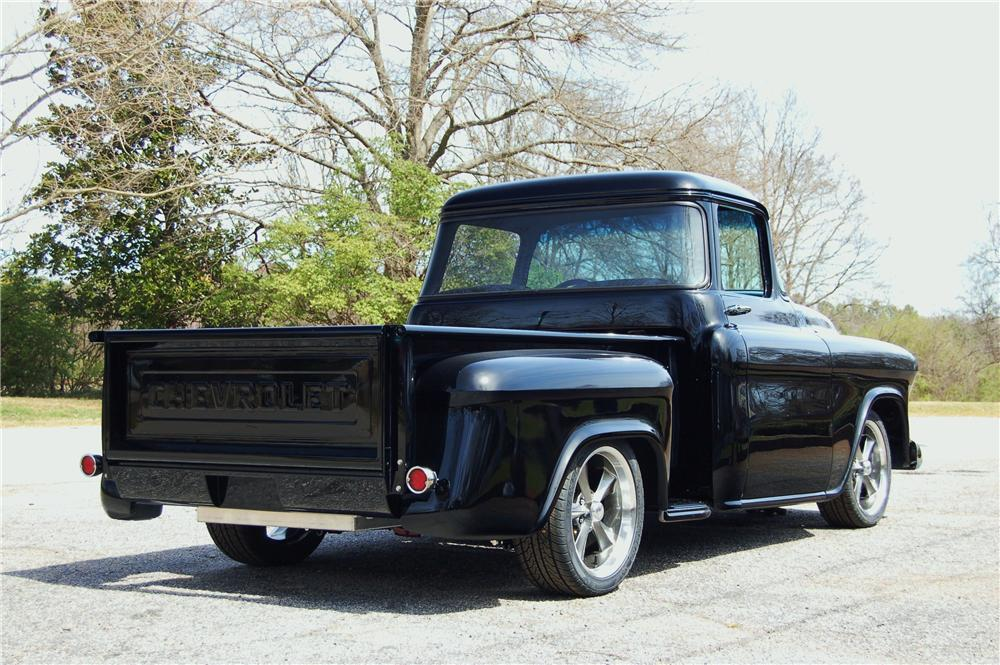 1956 CHEVROLET 3100 CUSTOM PICKUP - Rear 3/4 - 170621