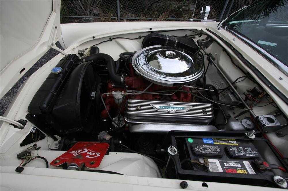 1957 FORD THUNDERBIRD CONVERTIBLE - Engine - 170628
