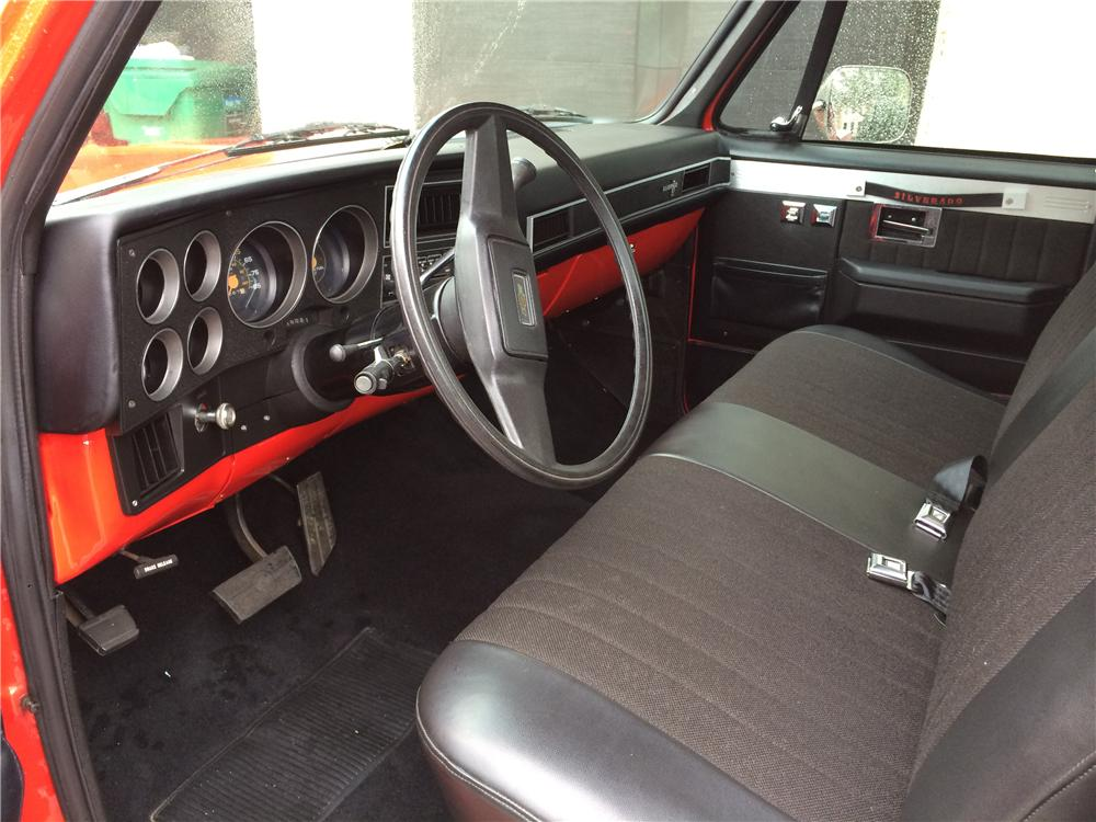 1985 CHEVROLET SILVERADO PICKUP - Interior - 170630