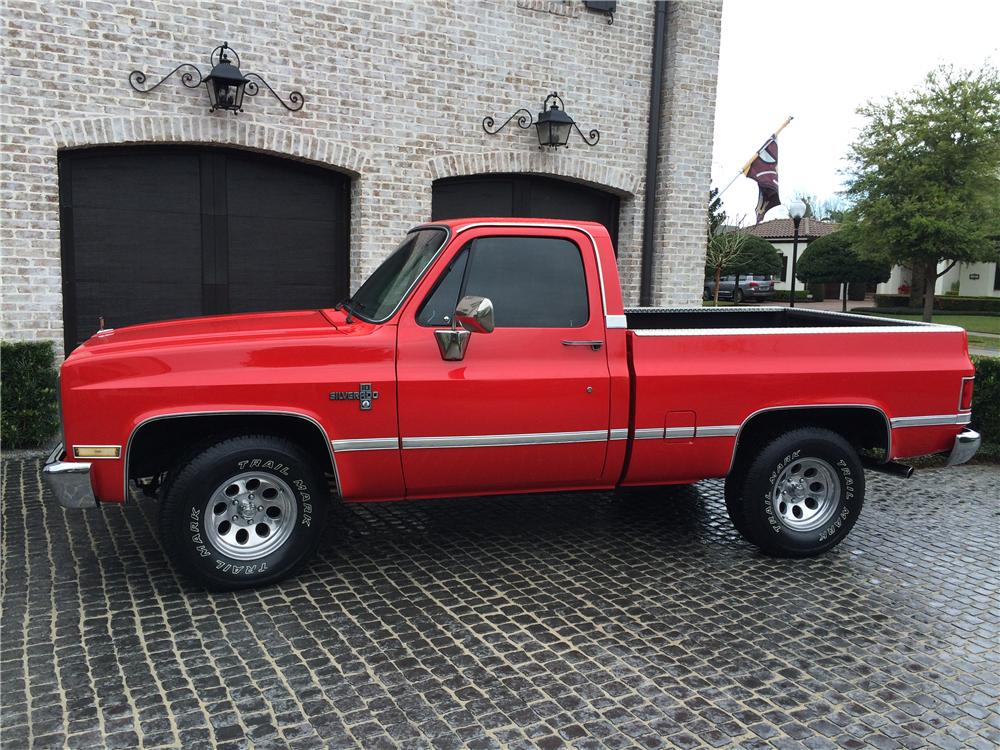 1985 CHEVROLET SILVERADO PICKUP - Side Profile - 170630
