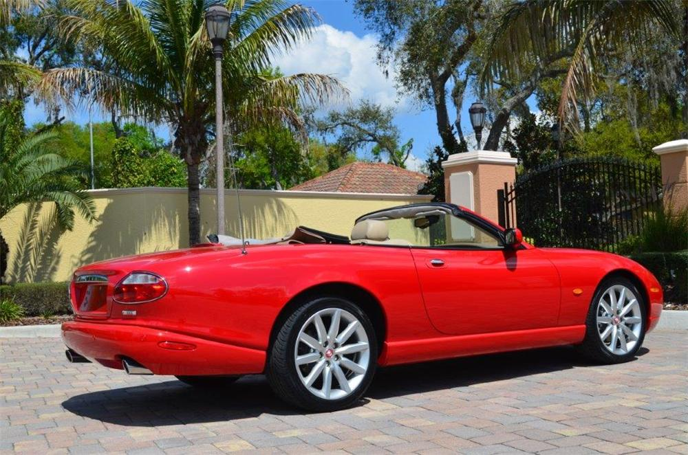 2005 JAGUAR XK8 CONVERTIBLE - Rear 3/4 - 170702