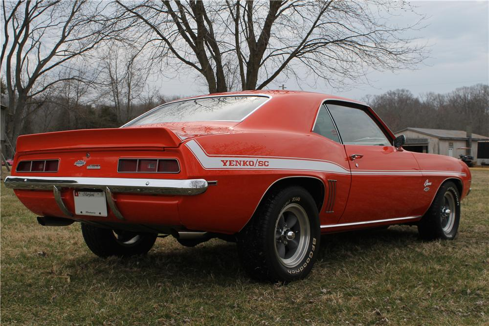 1969 CHEVROLET CAMARO YENKO RE-CREATION - Rear 3/4 - 170707