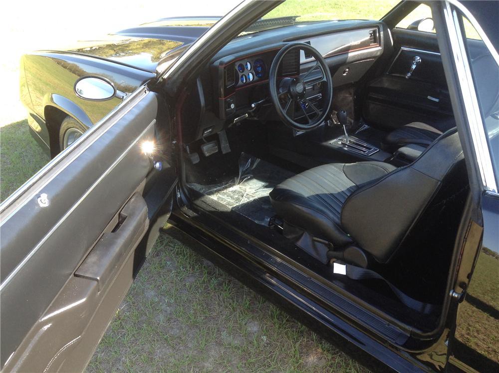 1980 CHEVROLET EL CAMINO CUSTOM PICKUP - Interior - 170819