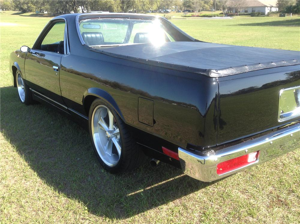 1980 CHEVROLET EL CAMINO CUSTOM PICKUP - Rear 3/4 - 170819