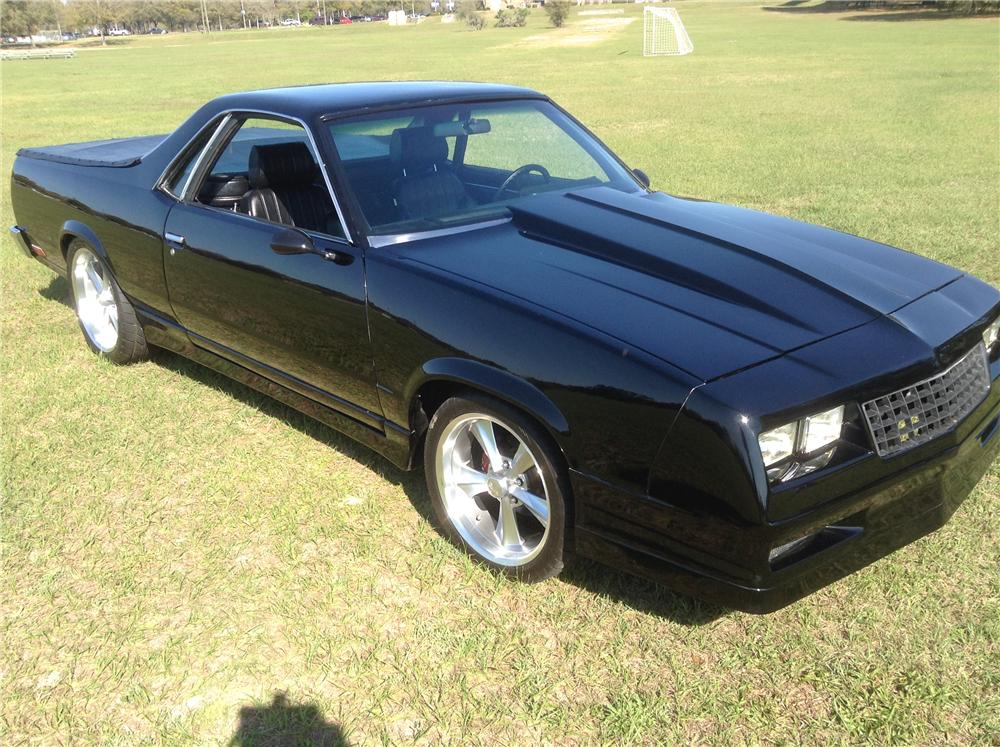 1980 CHEVROLET EL CAMINO CUSTOM PICKUP - Side Profile - 170819