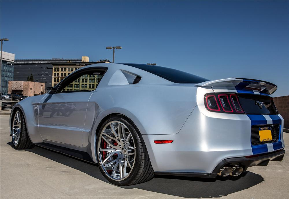 2013 FORD MUSTANG FASTBACK - Rear 3/4 - 170828