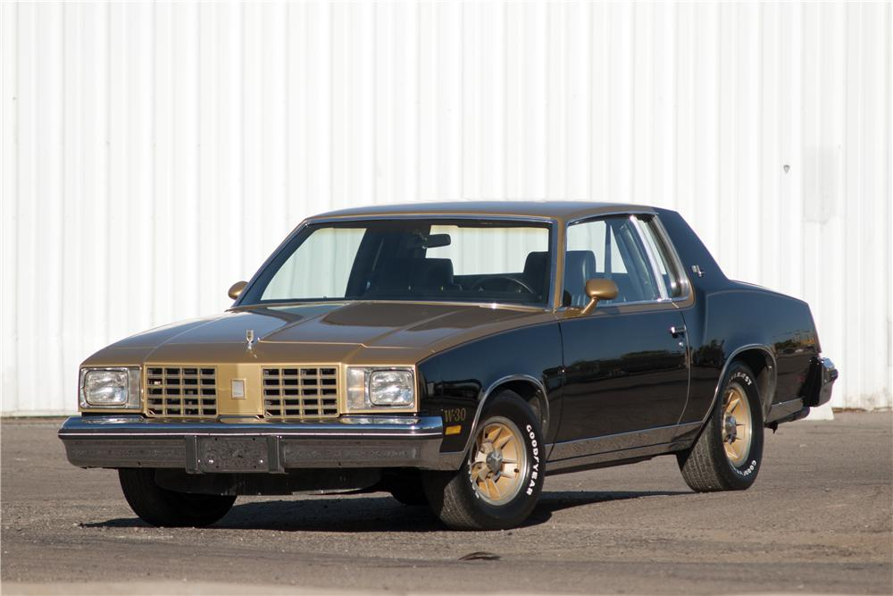 1979 OLDSMOBILE CUTLASS HURST COUPE - Front 3/4 - 170830