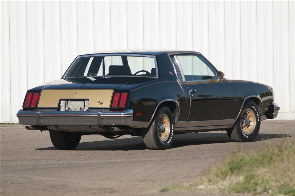 1979 OLDSMOBILE CUTLASS HURST COUPE - Rear 3/4 - 170830