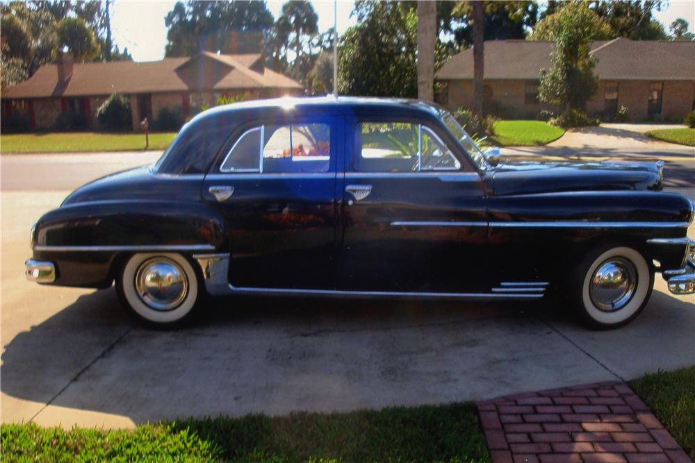 1950 DESOTO 4 DOOR SEDAN - Side Profile - 170831