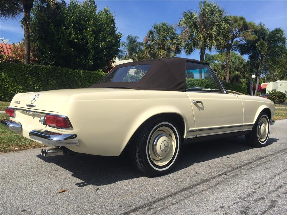 1965 mercedes benz 230sl convertible 170835