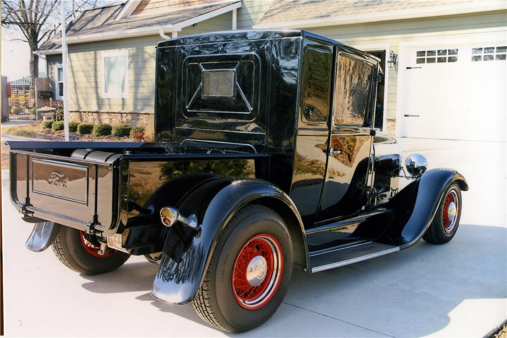 1929 FORD CUSTOM EXTENDED CAB PICKUP - Rear 3/4 - 170838