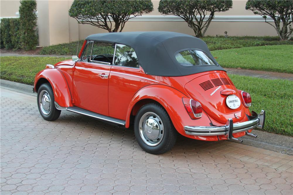 1971 VOLKSWAGEN BEETLE CONVERTIBLE - Side Profile - 170847