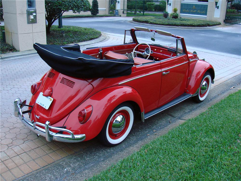 1963 volkswagen beetle convertible 170848. Black Bedroom Furniture Sets. Home Design Ideas