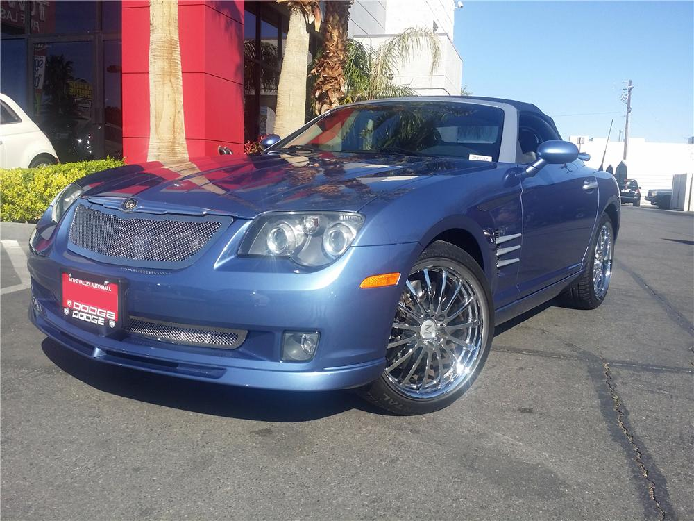 2005 CHRYSLER CROSSFIRE CUSTOM CONVERTIBLE - Front 3/4 - 170856