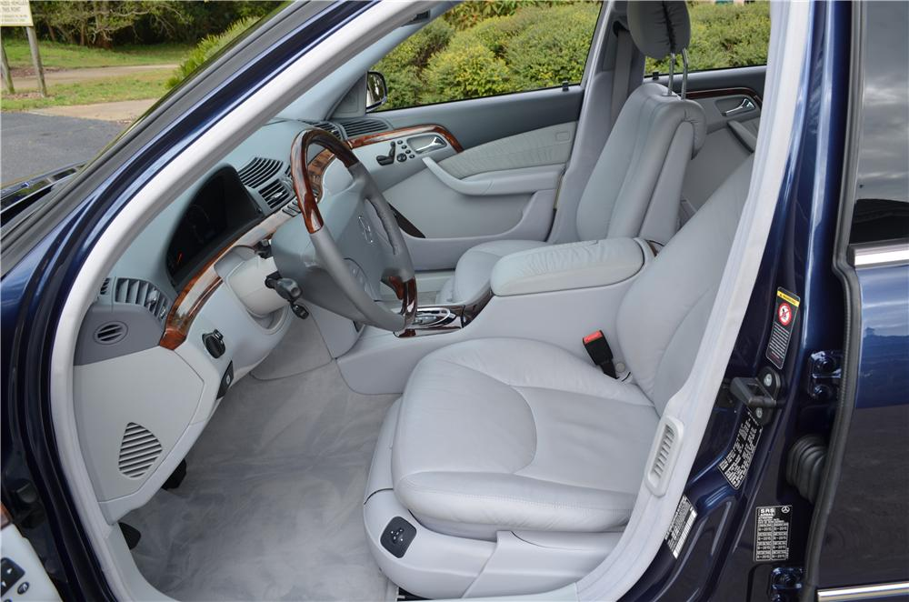 2000 MERCEDES-BENZ S500 4 DOOR SEDAN - Interior - 170857