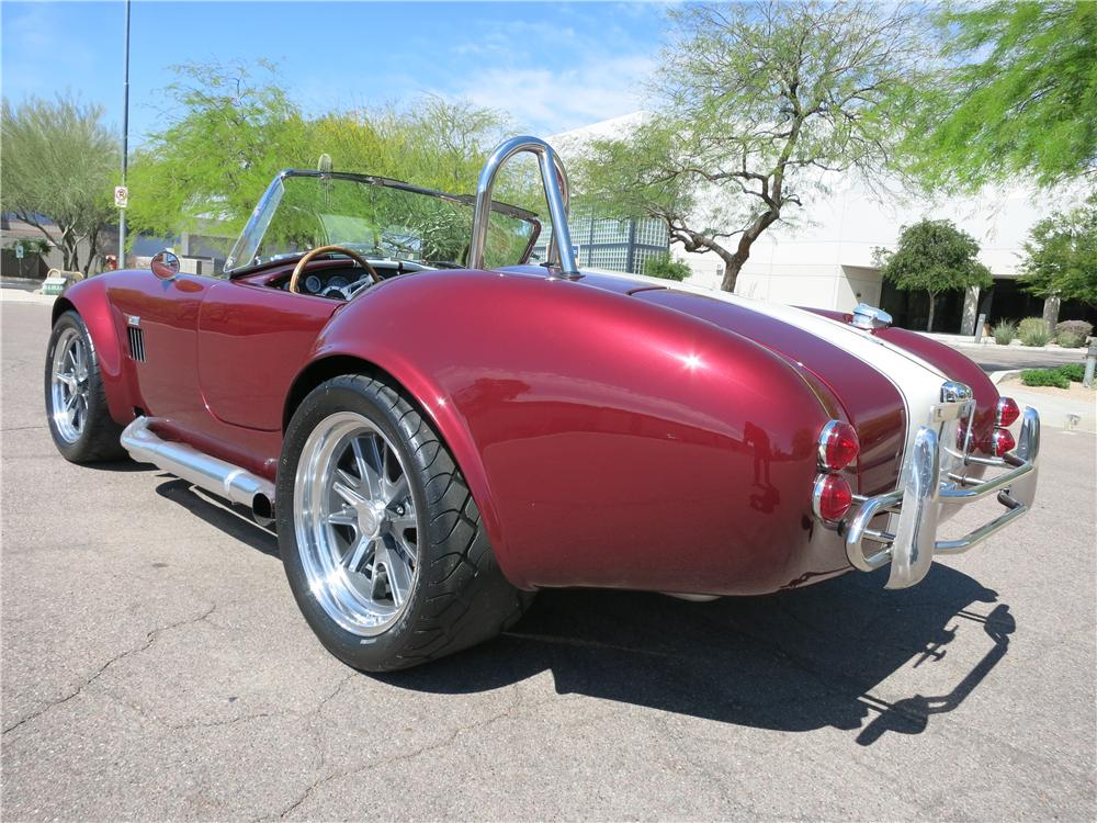 1965 SHELBY COBRA ROADSTER RE-CREATION - Rear 3/4 - 170863